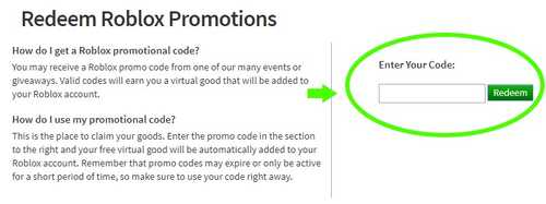 How to redeem Roblox promo codes? RobloxCodes io